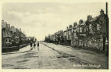 One of a Set of 8 postcards in 'Goldenacre' series,  published by Burns Stationery Depto, Goldenacre, Edinburgh  -  Wardie Road