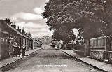 Caledonia Series Postcard  -  Gilmerton Main Street  -  posted 1917