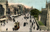 Postcard  -  Castle Series  -  Princes Street, West End