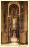 Postcard by A R Edwards & Son  -  Entrance to the Shrine, Scottish National War Memorial