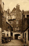Huntly House from Bakehouse Close  -  Postcard  -  W J Hay  -  'Knox series'