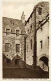 Postcard by Francis Caird Inglis  - Huntly House, Canongate, Edinburgh  -  View from the South
