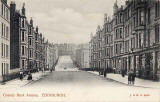 Postcard published by J & MS, Edinburgh  -  Comely Bank Avenue