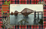 J M Postcard  -  Caledonia Series  -  The Forth Bridge