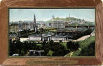 J M Postcard  -  Caledonia Series  -  View from Edinburgh Castle
