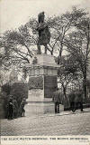 Postcard published by John R Russel of Edinburgh (JRRE)  -  Black Watch Memorial, The Mound
