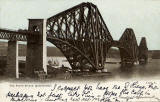 Postcard published by John R Russel of Edinburgh (JRRE)  -  The Forth Rail Bridge