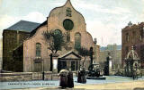 'National Series' postcard  -  Canongate Parish Church