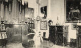 PTA postcard  -  St Margaret's Convent, Edinburgh  -  Entrance Hall
