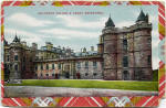 Postcard by A Louis Reis & Co  -  Holyrood Palace, Edinburgh