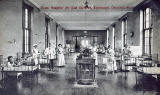 Postcard published by The Scientific Press, London  -  Royal Hospital for Sick children, Edinburgh, Charteris Ward