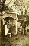 Postcard  -  The Village Well, Longformarcus, Scotland