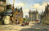 "Raphael Tuck ""Oilette"" postcard  -  Holyrood Abbey and Strand"