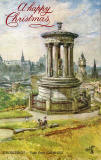 "Tuck's ""Oilette"" postcard  -  Looking to the west from Calton Hill"