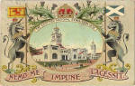 A Valentine Postcard of the Palace of Industries at the Scottish National Exhibition, Edinburgh, 1908