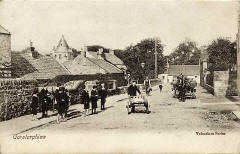 Postcard by Valentine  -   Corstorphine in the early 1900s