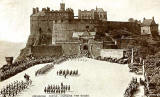 Edinburgh Castle  -  Changing the Guard