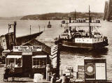 Valentine's Postcard  - Zoom in to the ferry 'Robert the Bruce' -  1934