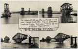 Postcard by Valentine  -   The Forth Bridge under construction