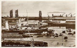 Valentine Postcard  - Imperial Docks, Leith: 1933