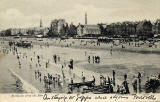 Portobello Portobello from the Pier  -  A Valentine Postcard, posted 1906