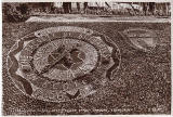 Floral Clock in Princes Street Gardens  -  1956