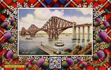 Post cards of the Forth Rail Bridge