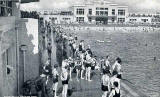 Portobello Bathing Pool  -  Valentine Postcard