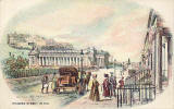 Postcard by W R & S  - Princes Street in 1827