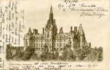WR&S Postcard  -  Fettes College  -  posted 1907