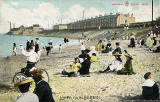 WR&S Postcard  -  posted 1918  -  Joppa from the Beach
