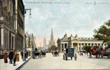 Postcard by WR&S  -  Princes Street, looking east  -  Posted 1905