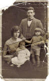 Postcard Portrait  -  Alex Roberts  -  The Conway Family  -  Negative No 97517