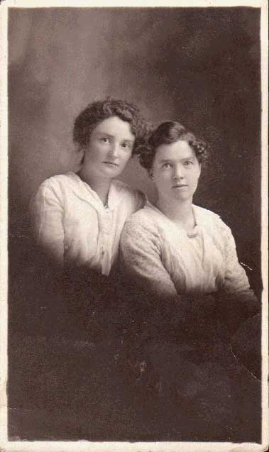 Christina Fraser and Catherine Fraser Carbray