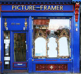 L Freedman, Picture Framer, 8 Antigua Street, Leith Walk, Edinburgh