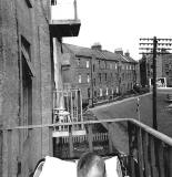 Bonnington Avenue, looking towards Graham Street - 1954