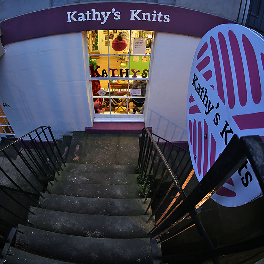 Shop at 64a Broughton Street  -  Kathy's Knits