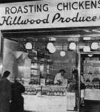 Hillwood Produce Co roast chicken shop at 39 Clerk Street