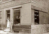 B Gardiner's Baker & Confectioner Shop at 34 Dean Street on the corner of Hermitage Place