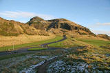 Arthur's Seat from near St Leonard's Entrance to Holyrood Park
