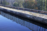 Aqueduct on the Union Canal, Edinburgh  -  Crossing the Water of Leith at Slatefore  -  October 2014