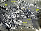 Craigmillar Aerial Photos  -  pre-1930s  -  Breweries, Roads and Railways