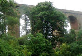 Cumnock Temple Bridge, Ayrshire - viaduct photographed 2009