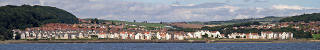 Dalgety Bay  -  View from the Firth of Forth  -  Panorama