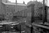 Footbridge over Water of Leith at Dean Village