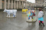 Edinburgh Cow Parade  -  2006  -  The National Galleries