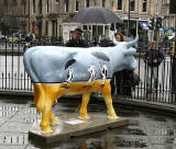 Edinburgh Cow Parade  -  2006  -  The West End of Princes Street