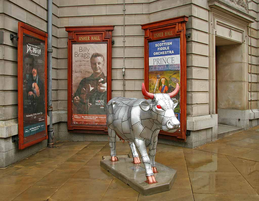Edinburgh Cow Parade  -  2006  -  The Usher Hall