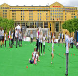 World Sports Day at Festival Square  -  25 June 2012