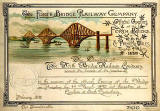 Invitation to the Official Opening of the Forth Bridge  -  4 March 1890